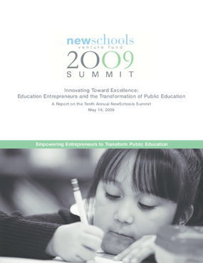 Innovating Toward Excellence: Education Entrepreneurs and the Transformation of Public Education