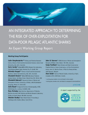An Integrated Approach to Determining the Risk of Overexploitation for Data-Poor Pelagic Atlantic Sharks