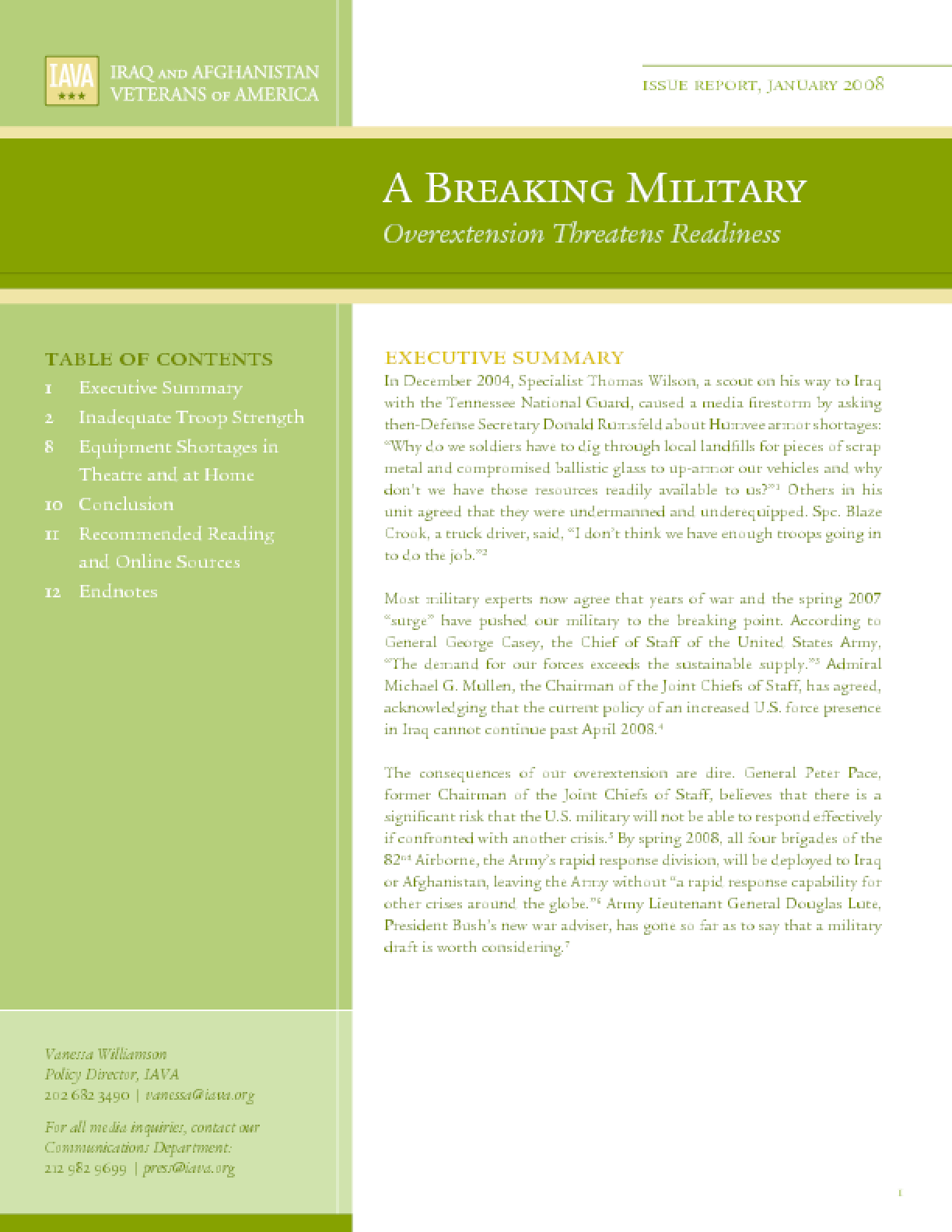 A Breaking Military: Overextension Threatens Readiness