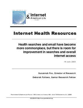 Internet Health Resources