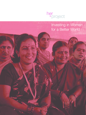 Investing in Women for a Better World