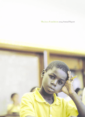 Joyce Foundation - 2004 Annual Report