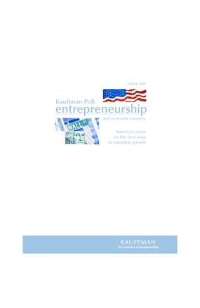 Kauffman Survey: Entrepreneurship and Economic Recovery