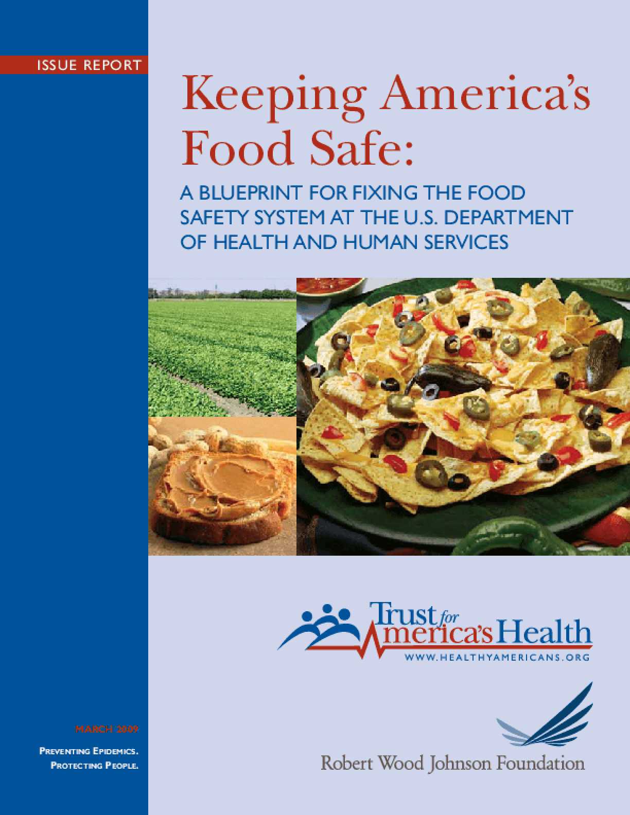 Keeping America's Food Safe: A Blueprint for Fixing the Food Safety System at the U.S. Department of Health and Human Services