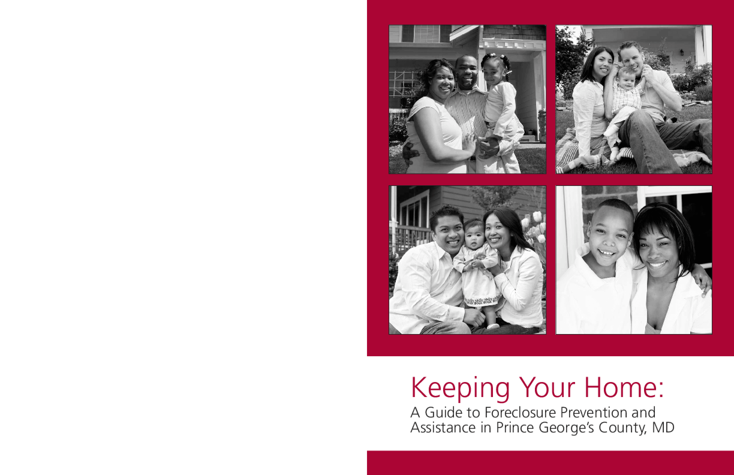 Keeping Your Home: A Guide to Foreclosure Prevention and Assistance in Prince George's County, MD