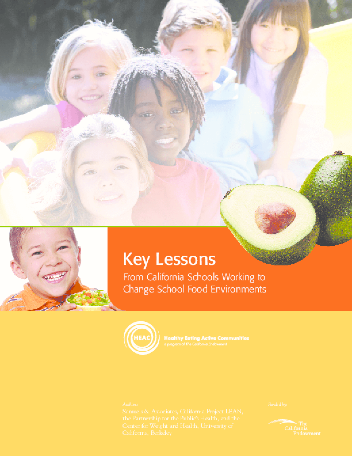 Key Lessons From California Schools Working to Change School Food Environments