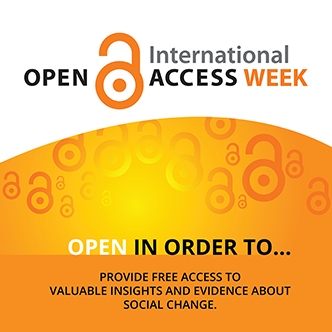 Open Access Week 2017: We're Open in Order to …