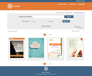 IssueLab's Knowledge Center Service Demo Site
