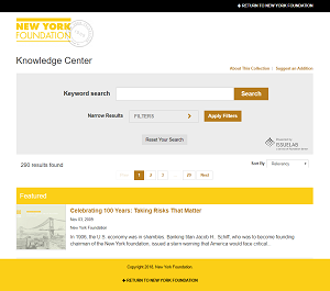NYF Knowledge Center